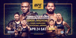 UFC 261 pronostico, scommesse Usman vs Masvidal 2