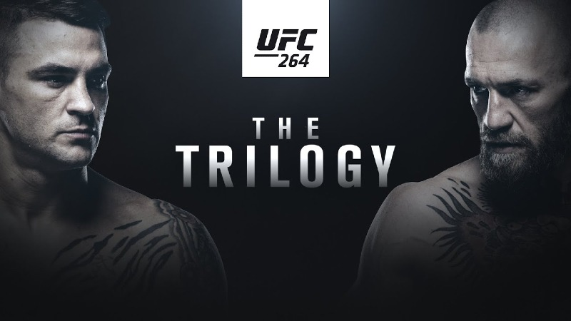 UFC 264 Poirier vs McGregor 3
