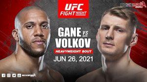 Gane vs Volkov scommesse UFC