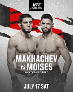 Makhachev vs Moises scommesse ufc