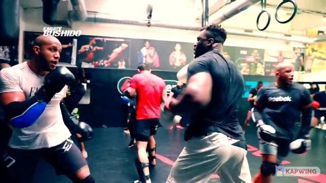 Ngannou vs Gane sparring