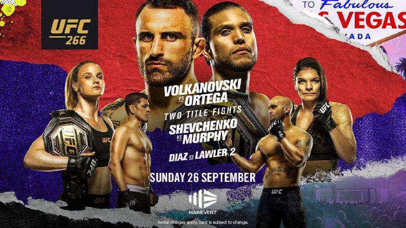 UFC 266 scommesse vincenti