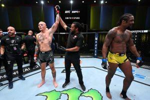 UFC Smith vs Spann risultati