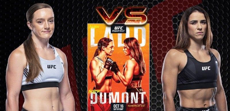 scommesse ufc Aspen Ladd vs Norma Dumont